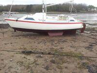 Minstrel 680, 23ft sailing boat, yacht