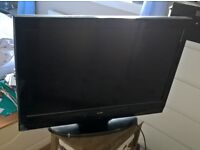 Flat screen tv. Black. Perfect condition. Not smart tv.