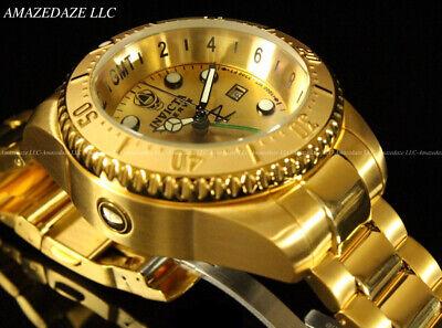 NEW Invicta Reserve Men's 52mm Hydromax Swiss GMT Stainless Steel 1000 M Watch Invicta Gmt Watch