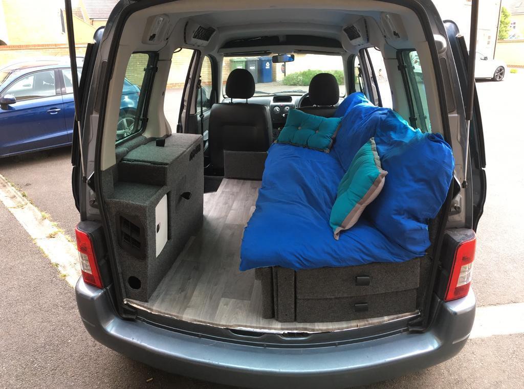 berlingo microcamper dayvan camper in yaxley. Black Bedroom Furniture Sets. Home Design Ideas