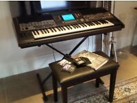 Yamaha PSR9000 Workstation 61 Key Keyboard Synthesizer Electric Piano