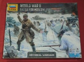 'WWII Battle For Moscow 1941' Board Game