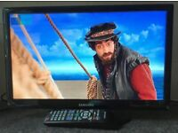 Samsung UE19D4003 19inch Widescreen HDMI LED TV with Freeview HD Television