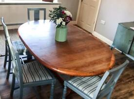 Solid Wood Extending Dining Table