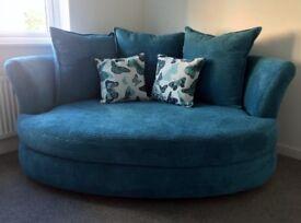Large Cuddler Sofa.