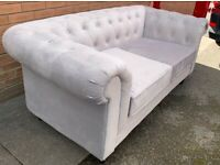 Brand new 2 and 3 seater Chesterfield suite! Never used only selling as doesn't suit new house