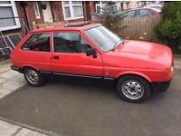 Ford Fiesta mk2 rolling shell zetec conversion