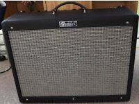 Fender Hot-Rod Blues De-Luxe iii 40w Valve Amp. With cover and Footswitch