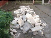 Lovely stone for building rockery/small wall etc