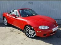 MAZDA MX5 WITH 12MTHS MOT ONLY 51322 MILES *CONVERTIBLE*
