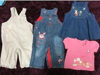 Girls 9-12 month bundle of clothes