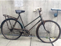 Vintage Bicycle Hercules County single speed, lovely old bike in good working order
