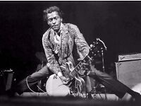 Looking for a Rock and roll, blues singer RIP Chuck Berry