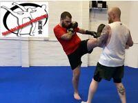 Kickboxing for beginners!