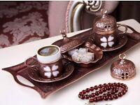 TURKISH COFFEE ESPRESSO SERVING SET