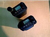 Kenwood TK-350 x2, 32 channels Radios.
