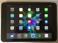 iPad Air 32GB Wifi + 4G unlocked with leather smartcase
