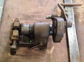 Authentic and vintage Machine Shop Thread Cutter