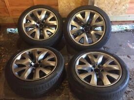 """19"""" BMW X5 Borbet Tiger Claw Staggered Alloys (x4) with Tyres"""