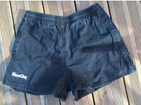 Rugby shorts black 29-34in waist