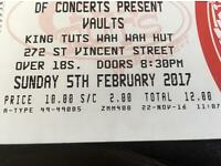 Face value Vaults ticket for King Tuts