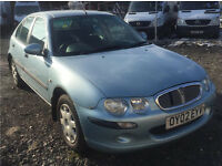 2002 ROVER 25 2.0 TURBO DIESEL VERY GOOD RUNNER - NEW ENGINE