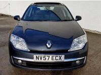 2007 [57] RENAULT LAGUNA 2.0 DCI [150] 1 YEARS MOT-PANORAMIC ROOF- LEATHER - CRUISE(PART EX WELCOME)