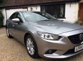 Mazda 6 se-l nav skyactiv diesel £20 a year road tax !!