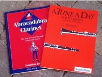 x2 Learn the clarinet books