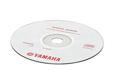 Handbuch CD-Rom Wartung / Bedienung Yamaha YZ 125 2006