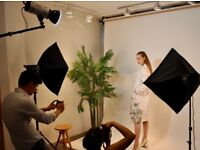 Photography, Photo, Video Studio Hire / Hackney / V. cheap - from £9.00/hr/Full Day-£72 inc Lights