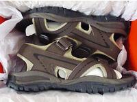 Men's Brown Slazenger Wave Sandals – Boxed – Brand New – Size: UK7 EU41