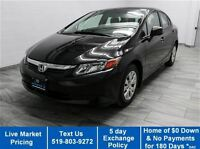 2012 Honda Civic LX SEDAN w/ POWER PACKAGE! CRUISE CONTROL! A/C!