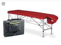 Habys Aero 60 Massage Table Red (brand new unused)