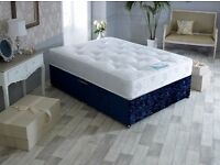 MEMORY POCKET SPRUNG MATTRESS HYPOALLERGENIC 3FT 4FT 4FT6 5FT OR 6FT