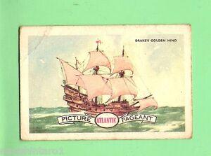 D85-1950-60s-ATLANTIC-PETROLEUM-CARD-16-FRANCIS-DRAKES-GOLDEN-HIND