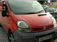 NISSAN PRIMASTAR DCI100 SWB 6 SEATER IDEAL EXPORT OR WORK OR PRIVATE USE