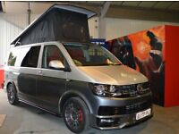 VW T6 SWB 102ps 4 berth Camper Van Brand New Conversion with Aircon & Cruise