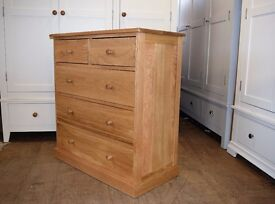 Appleby Oak 2+3 Chest of Drawers