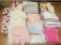Baby Girl Clothes Bundle 1 (0-3 months) - immaculate and stain free
