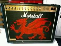 Marshall JCM800 100 watt valve 2x12 combo guitar amplifier