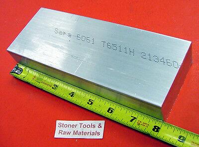 1-12 X 3 Aluminum 6061 T6511 Solid Flat Bar 8 Long 1.50 Plate Mill Stock