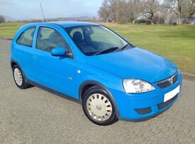 FANTASTIC PRICE. GORGEOUS CORSA. LOW MILEAGE. WELL KEPT. SERVICE HISTORY. 60 MPG. CHEAP INSURANCE.