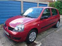 Renault Clio 1.2 Campus ***4400 MILES + FSH*** Red 5 Door