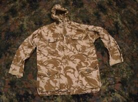 Army Issued Desert Windproof Combat Smock (size 180/112 X-Large)