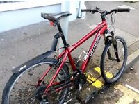 SPECIALIZED HARDROCK SPORT MOUNTAIN BIKE (gears & brakes need to be serviced)