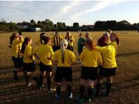 New Ladies Football Team in Ruislip looking for new players
