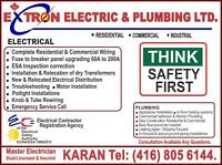 LICENSED ELECTRICIAN, BASEMENT WIRING, ESA INSPECTION CORRECTION