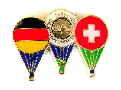 WARSTEINER BALLON Pin / Pins - GORDON BENNETT - DEUTSCHLAND / SCHWEIZ