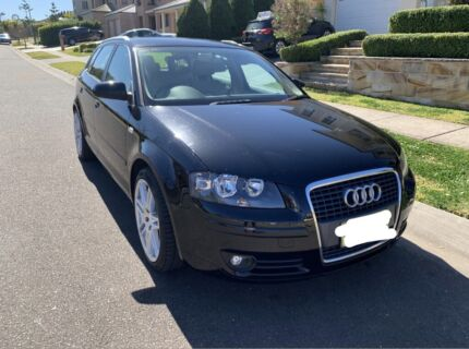 Audi A3 Cream Leather Interior Kellyville The Hills District Preview